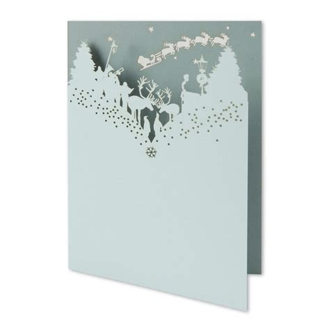 laser printable greeting cards christmas story laser cut greetings card frost and sage