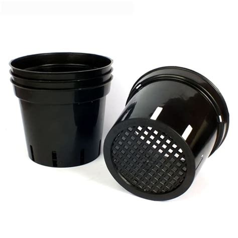 Jual Pot Anggrek jual pot anggrek 15cm hitam bibitbunga