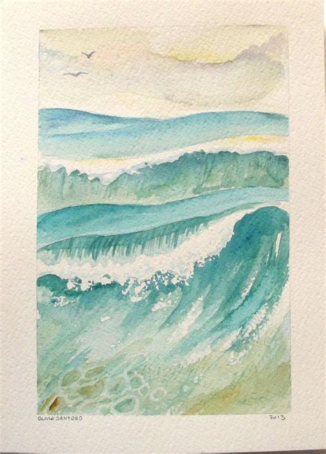 watercolor waves tutorial 25 best tattoo images on pinterest water colors