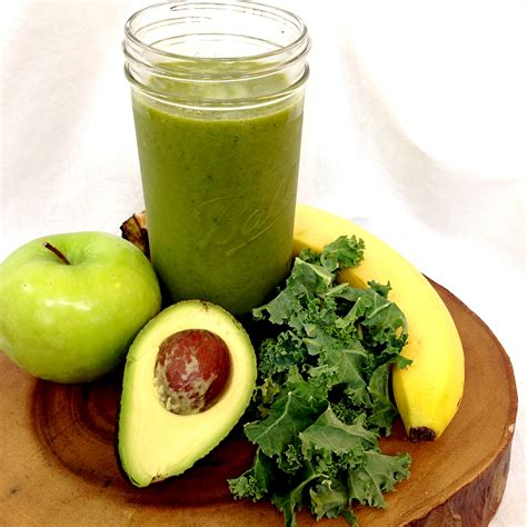 Garden Of Protien Greens Smoothie Detox by Green Smoothie My Healthy Dish
