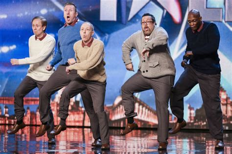 5 of britain s best and worst fathers discover britain britain s got talent five dancing middle aged men steal