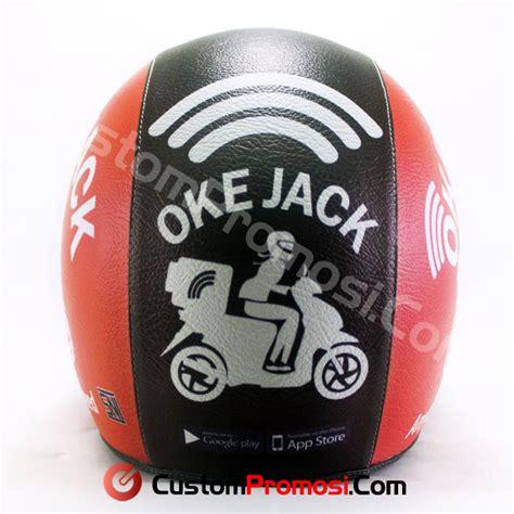 Custom Kulit helm retro custom bahan kulit