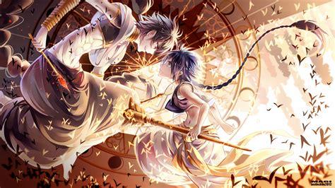 anime magic magi the labyrinth of magic aladdin magi wallpaper
