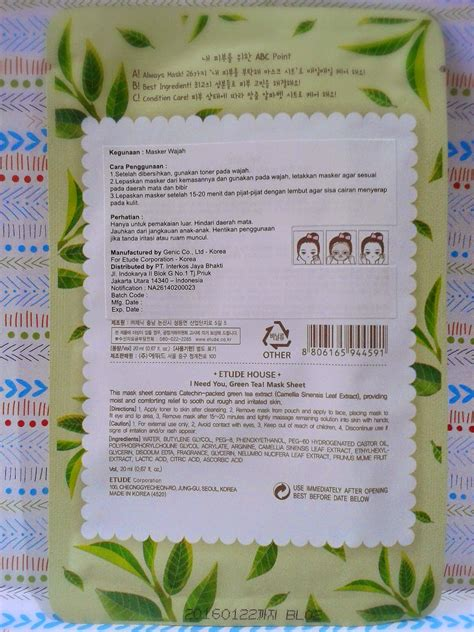 Masker Etude Di Counter giveaway s winner announcement review etude house i