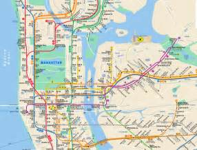 How To Read New York Subway Map by Tips For Riding The New York City Subway System Just A Pack