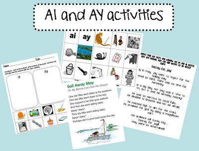Ai And Ay Worksheets by Snaps Ai And Ay Activities