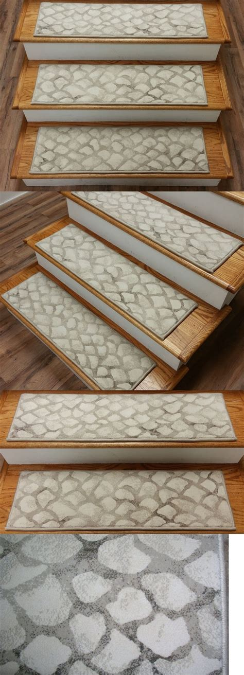 20 Photo Of Stair Tread Rug Holders Modern Stair Tread Rugs