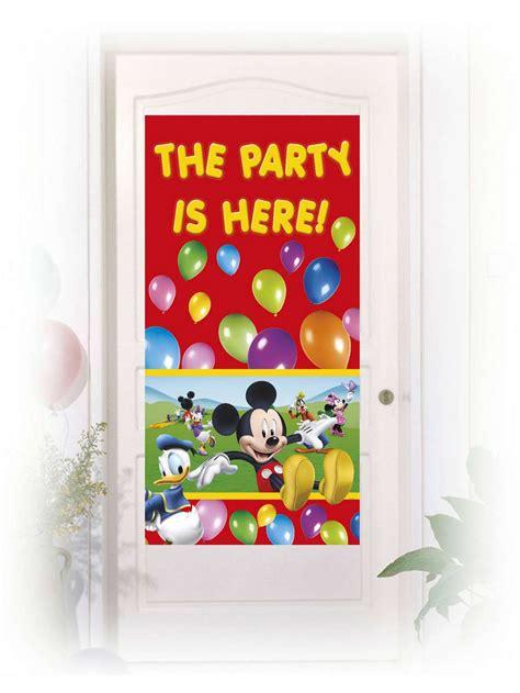 decorazioni per porte decorazione adesiva per porte topolino