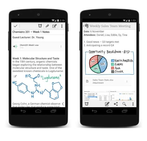 evernote for android evernote for android now supports handwritten notes