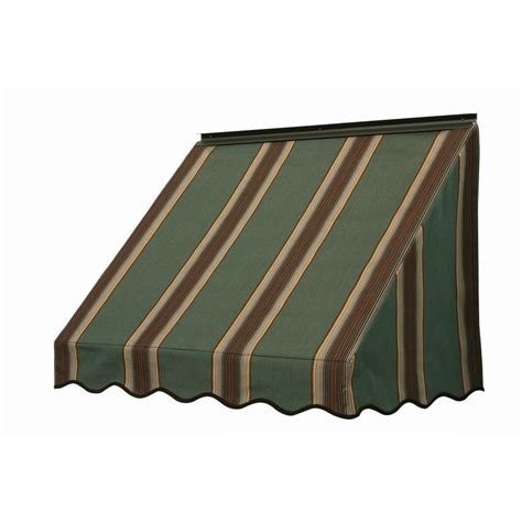 home depot window awnings nuimage awnings 4 ft 3700 series fabric window awning 28