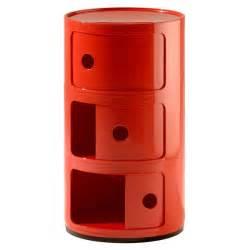 componibili kartell meuble de rangement 3 tiroirs