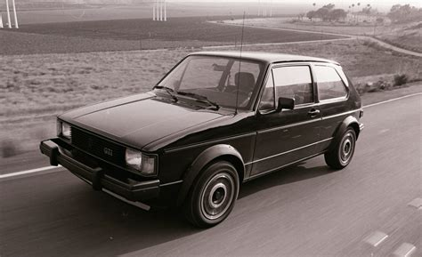 old volkswagen rabbit volkswagen gti a history in pictures