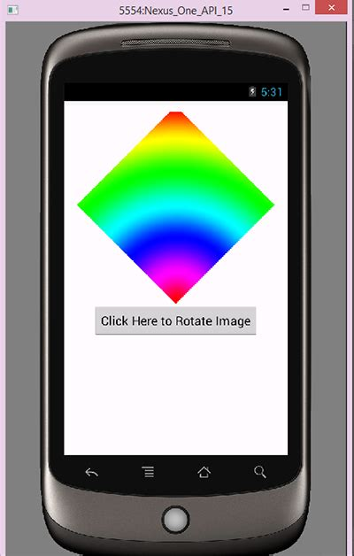 tutorial android imageview android rotate imageview image programmatically exle