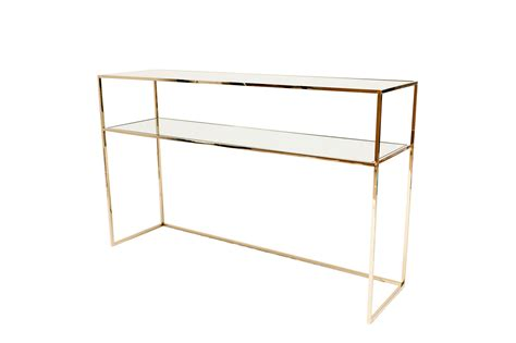 Brass Console Table Gazelle Console Table Brass Mirror Glass Ruth Joanna