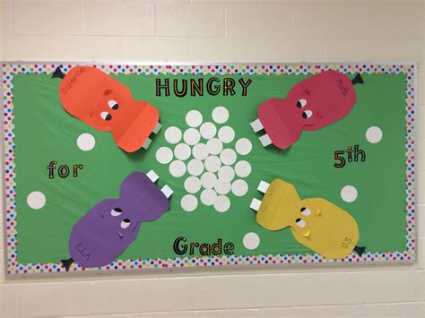 wb themed games level 4 hungry hungry hippos bulletin board for grade level board