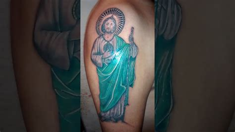 san judas tadeo tattoo tatuaje san juditas pictures to pin on tattooskid