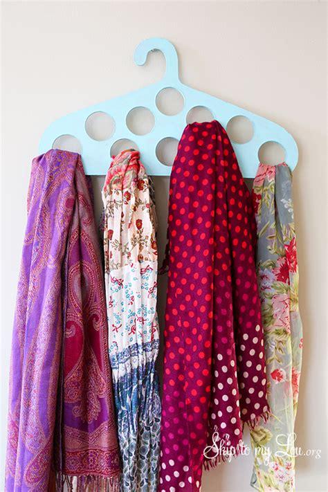 diy scarf hanger skip to my lou
