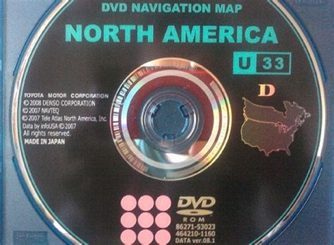 america dvd navigation map ca fs oem america dvd navigation map version 8 1