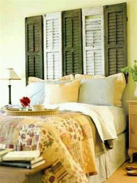 cute headboard ideas cute headboard idea with shutters favorite places