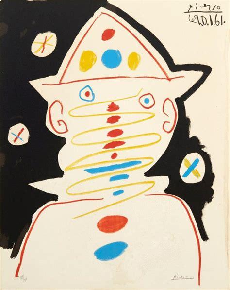 picasso paintings clowns d apr 232 s pablo picasso 1881 1973 carnaval 1961