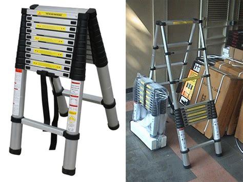 Tangga Aluminium 2m tangga lipat portable tangga lipat portable