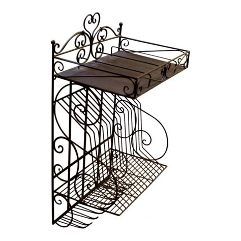 Decorative Dish Rack by Wall Mounted Decorative Metal Dish And Glass Drainer Vintage Design