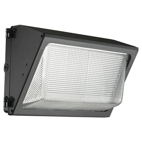 Lithonia Led Outdoor Lighting Lithonia Lighting Bronze Outdoor Led Wall Pack Twr1 Led 1 50k Mvolt Nahd M2 The Home Depot