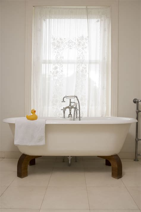 Bathroom Curtains And Window Treatments Totally Trendy Bathroom Window Treatments Curtain Bath