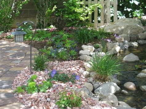 best mulch for flower beds redoing flower beds would love to use rock instead of mulch love this rock