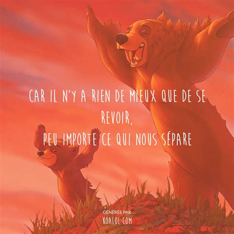 film disney ours les citations disney de la semaine 2 koalol