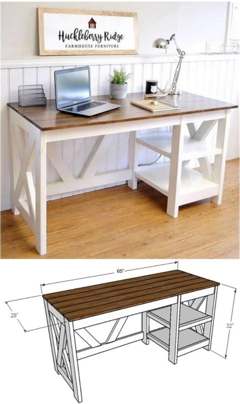 Decorative Desk L by 50 Decorative Diy Desk Solutions And Plans For Every Room