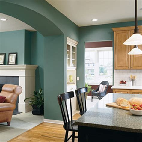 Choose Color For Home Interior Paint Colors For Living Room And Kitchen Combined Nakicphotography