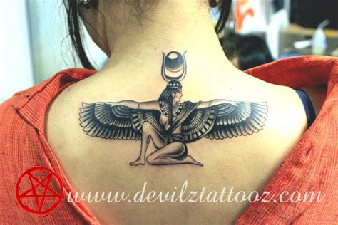 isis egyptian goddess tattoo 1000 images about on