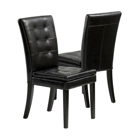 black leather dining room chairs black leather dining room chairs home furniture design