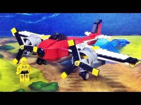Decool 3111 Propeller Adventure 3 In 1 decool 7292 lego knockoff creator propeller adventures