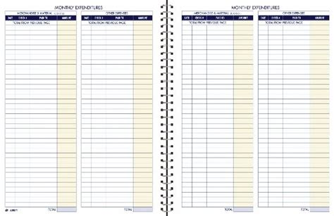 monthly bookkeeping template bookkeeping record book monthly format 8 5 x 11