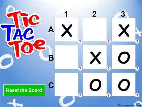 Tic Tac Toe Template For Teachers by Tired Of Jeopardy Before Tests Play Tic Tac Toe