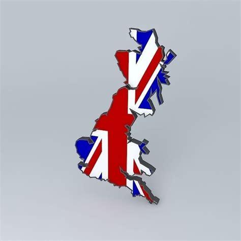 united kingdom flag 3d model obj fbx ma mb cgtrader uk united kingdom flag free 3d model max obj 3ds fbx stl