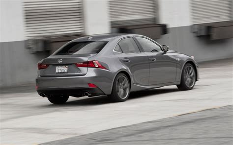 lexus 2014 is 250 2014 lexus is 250 f sport rear three quarters in motion