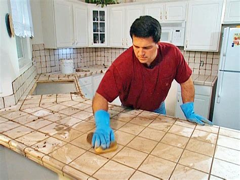 How To Install Kitchen Countertops Install Tile Laminate Countertop And Backsplash How Tos Diy