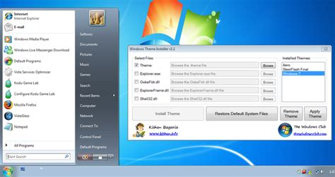 pc themes download softonic windows theme installer free download
