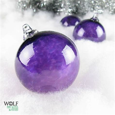 blown glass christmas ornament holiday tree decoration