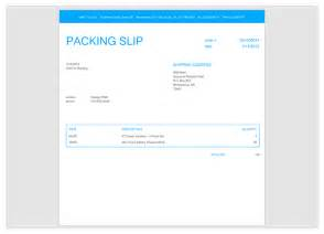 Picking Slip Template by Blank Receipt Template