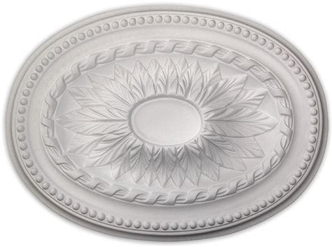 wishihadthat oval ceiling medallion polyurethane ready