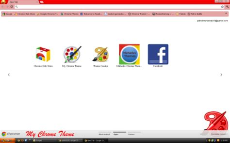 theme chrome red brighten your browser with solid color google chrome