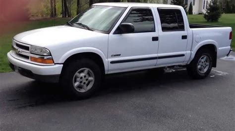 what year did chevrolet start 2003 chevrolet s 10 ls crew cab 4x4 start up review tour