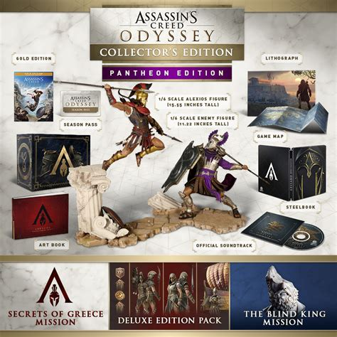 1405939745 assassin s creed odyssey the official buy assassin s creed 174 odyssey pantheon collector s edition
