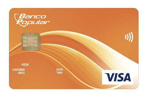 tarjeta visa banco popular banco popular suma ventajas de tecnolog 237 a chip y