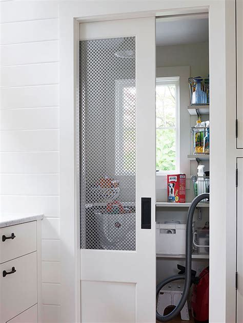 how to put chicken wire on doors how to install a pocket door