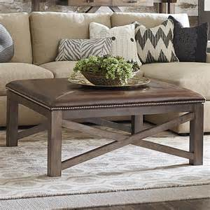ottoman coffee table square brown ottoman cocktail table